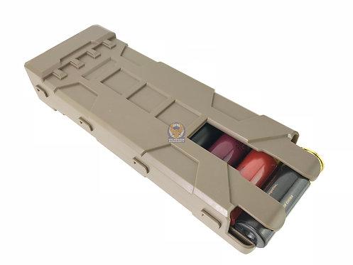 Flintlock Workshop Shot-Shells Carrier DE For Marui System Shotguns
