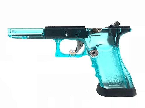 FLW Gen 3 Lower w/ Gun Modify Parts Transparent Blue