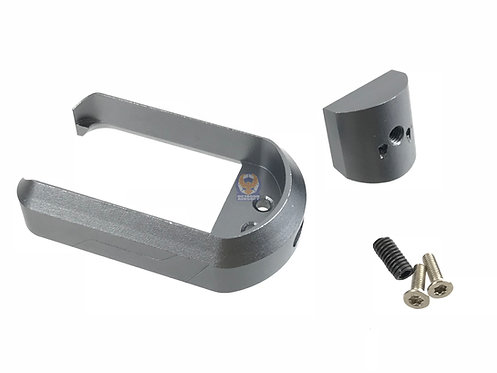 5KU-GB-276-T IPSC Magwell for Marui G17/G18C GBB Titanium Gray