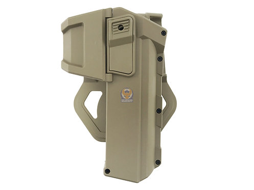 FLW Tactical Movable Right Hand Pistol Holsters for G17 G18 G19 (DE)