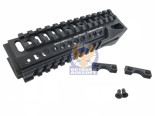 5KU Zenitco Aluminum B-10M Lower Rail Handguard For AK Series (BK).5KU-225.