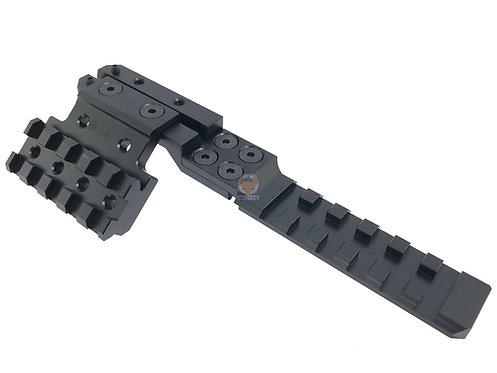 PPS Metal AK Rear Sight Rail Mount Set for AK AEG Series Airsoft B-0020