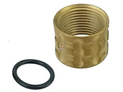 5KU-GB-451-G Thread Protector for -14mm CCW Barrel (Golden)