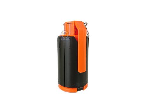 Flintlock Workshop M18 Style Airsoft Grenade (Orange and Black)