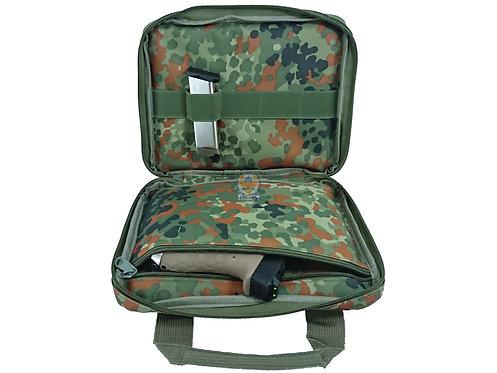 FLW Handgun Pistol Bag Soft Case - Small - Flecktarn
