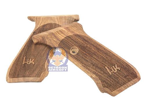 Rose Wood Grip For MGC P7M13 GBB Pistol