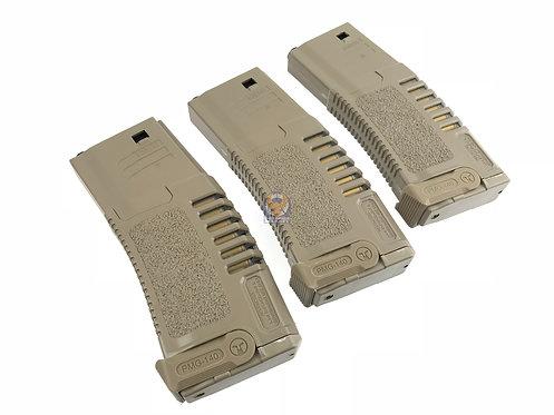ARES Amoeba 140 rds Magazines for M4 / M16 AEG DE (3 piece)