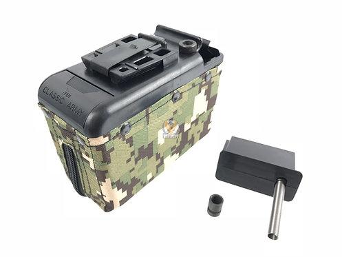 Classic Army P252P-K M249 1200rds Magazine Box Green P252P-K