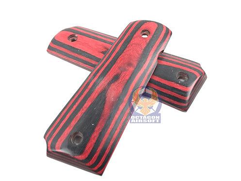 RSOV Wood Grip For TM 1911 GBB (Type F, 271)