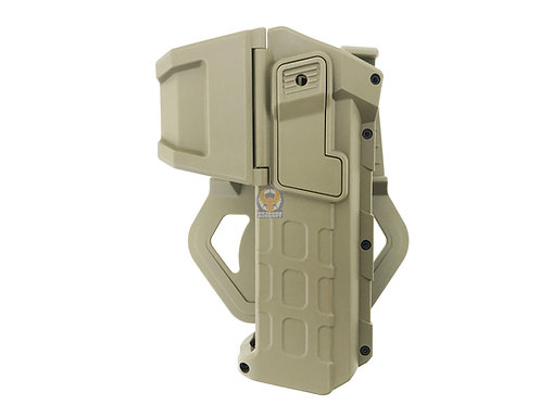 FLW Tactical Movable Right Hand Pistol Holsters for 1911 (DE)