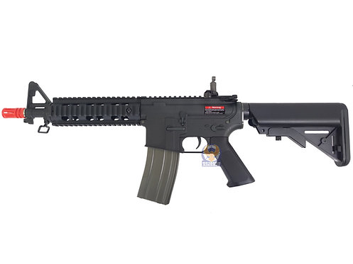 Ares M4 CQB RAS AEG (Nylon Fiber+Al.Alloy Ver, BK)
