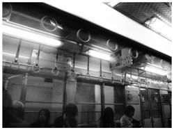 ある電車内