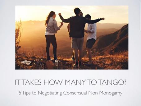 STwN: 5 Tips to Negotiating Consensual Non Monogamy