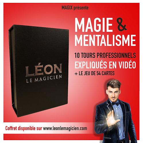 """Coffret """"Léon le magicien"""" (Magie et Mentalisme)"""