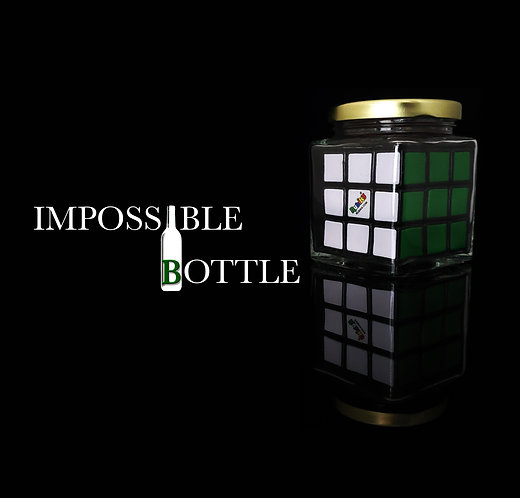 Impossible Bottle - Rubik's Cube