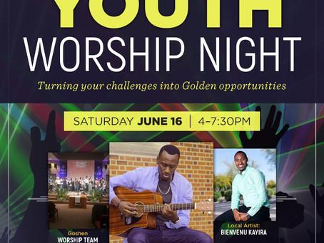 Youth Worship Night at Goshen International Church