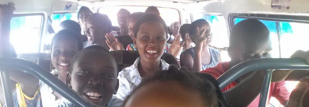 Children in bus