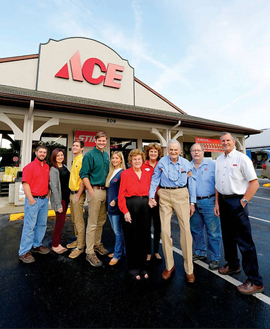 Carter Family in front of todays store.jpeg