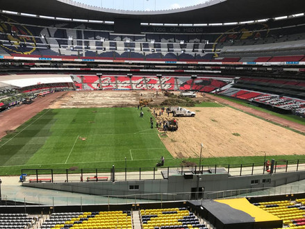 World Sports  chosen for Technical Consultant at Azteca Stadium in Mexico City.