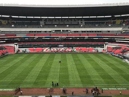 NFL approves new grass field at Estadio Azteca, where Chiefs play November 18.