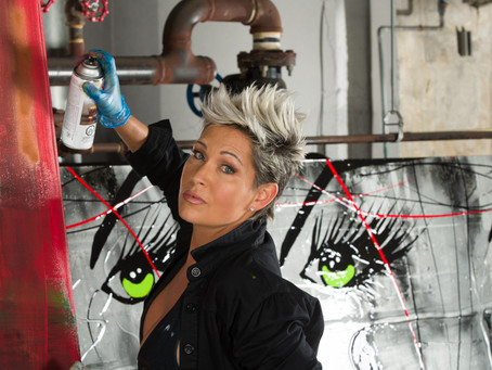 Lisabel - Creatively Fusing Art With Technology  by Teresa Greco