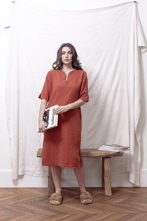 loungewear gaze de coton