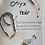 Thumbnail: Bracelet Hope onyx noir