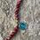 Thumbnail: Bracelet Rita Jaspe Rouge