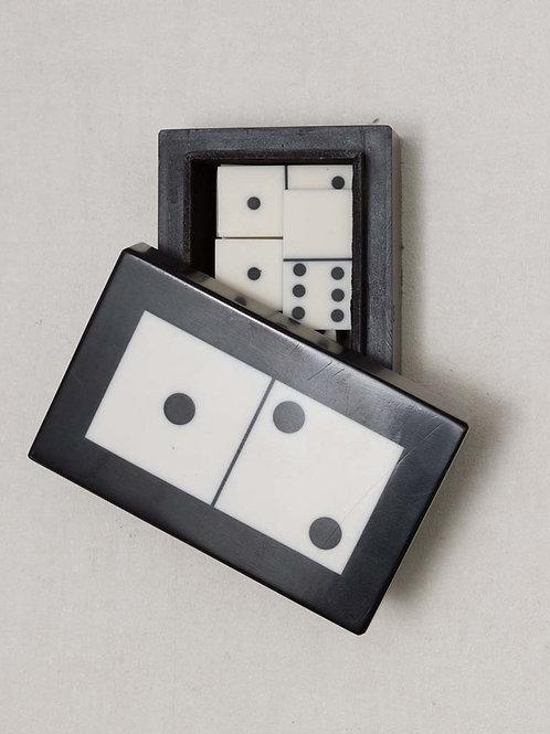 Boite de jeu 28 dominos