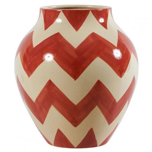 Vase Inca orange