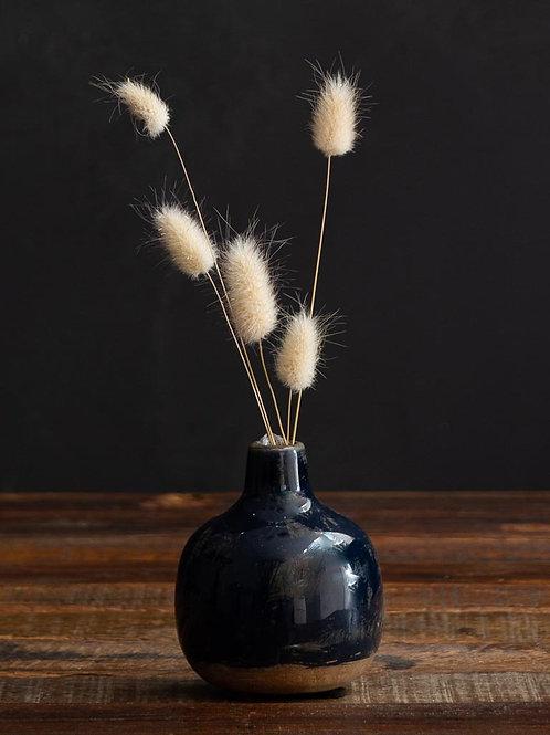 Mini vase bleu nuit