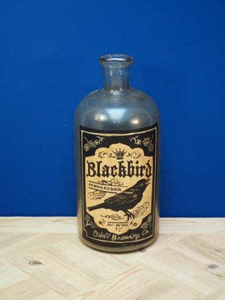 Bouteille blackbird