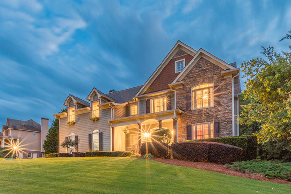 Georgia Evening Real Estate Photography