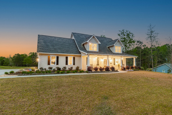 Atlanta Twilight Rural House Photography