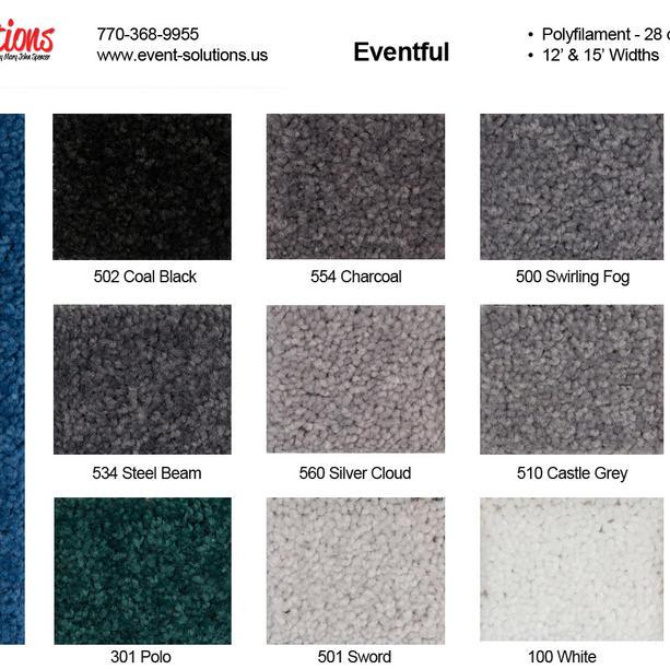 Eventful 12 & 15 wide carpet