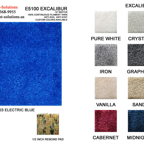Excalibur colors