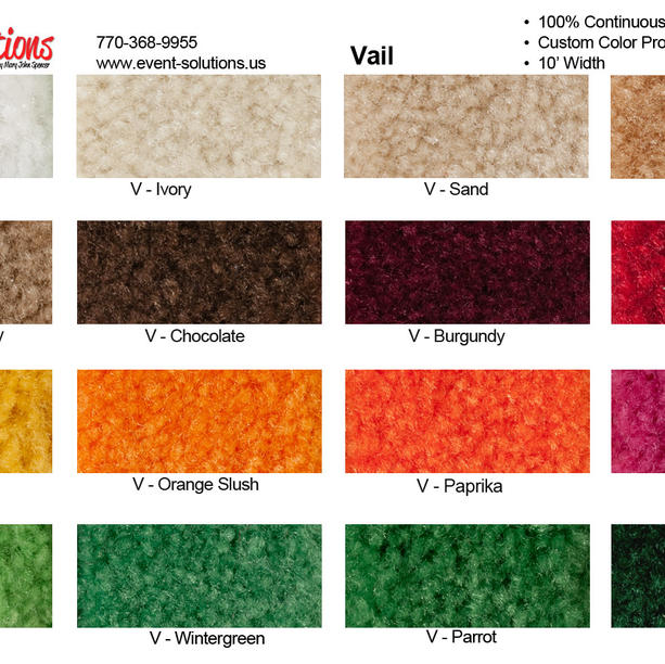 Vail-28z Nylon Colors 2
