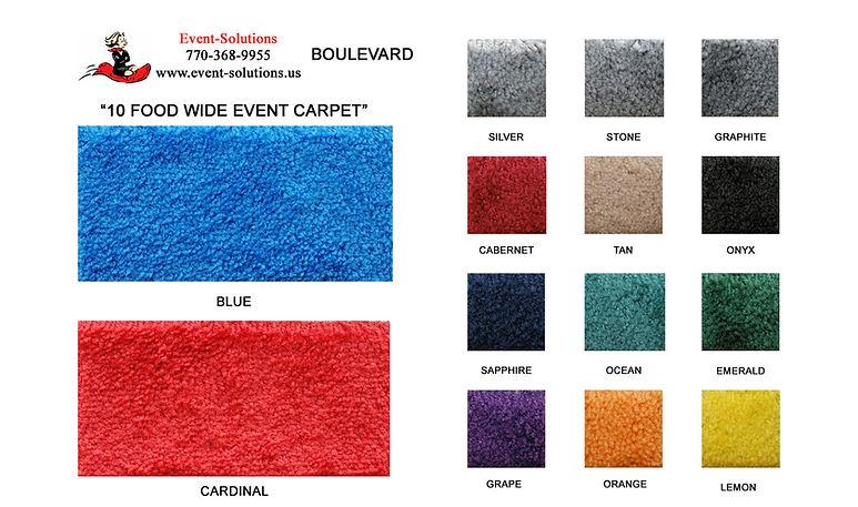 18 oz. carpet