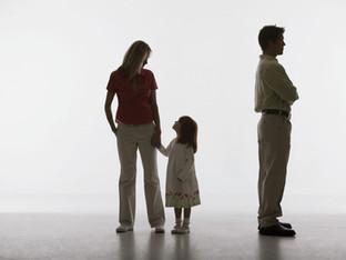 Litigios en la custodia/pensión de menores