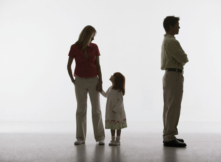Parental conflict during divorce.
