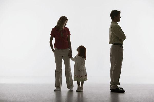 семья, развод, мама, папа, дочь