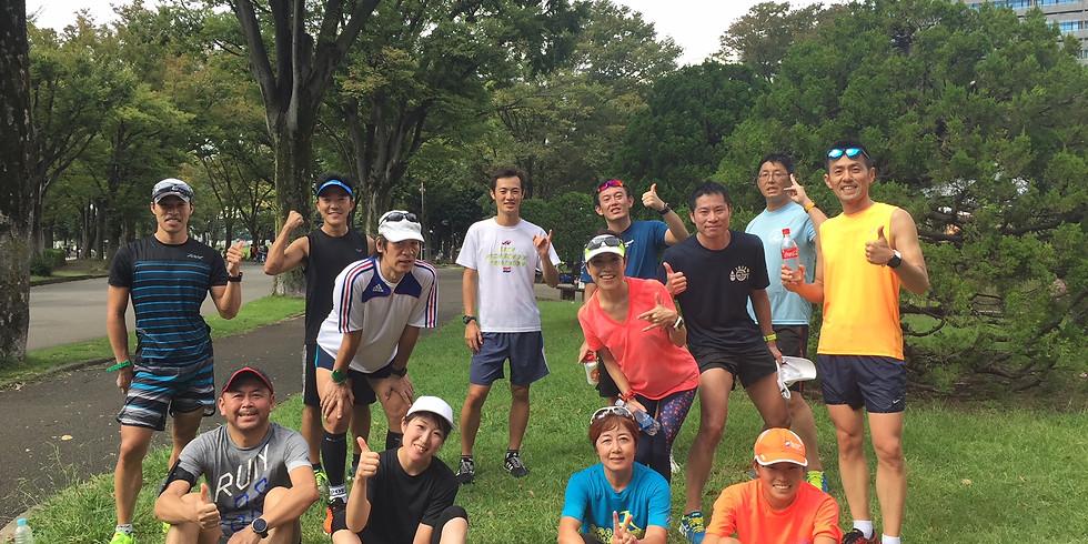 11/11 (日) 20㎞走 in 駒沢公園