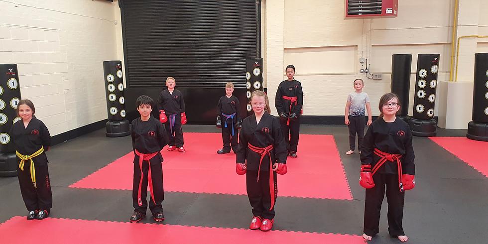 Cadets Colour belt grading