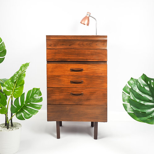 Mid Century Chest Of Drawers Storage Retro Storage