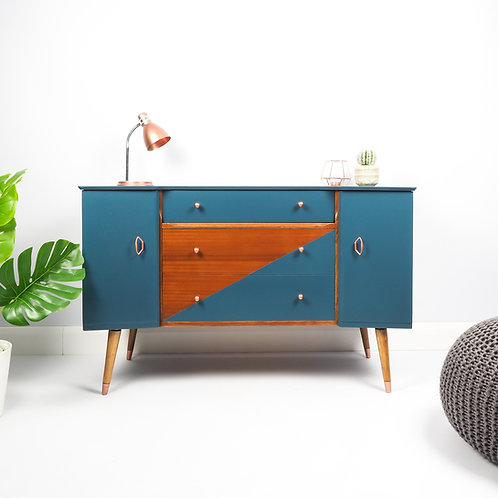 Mid Century Modern Sideboard Retro Dresser Media Unit Storage
