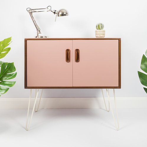 G Plan Mid Century Record Cabinet Sideboard On Hairpin Legs Storage Upcycled