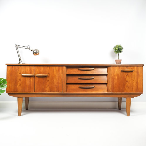 Mid Century Danish Retro Teak Jentique Sideboard Vintage 60s Drinks Cabinet