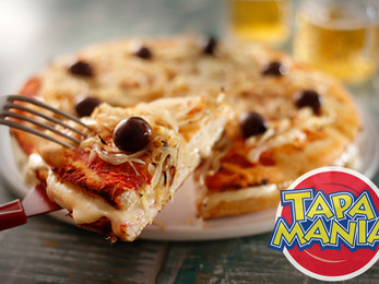 Pizza rellena #Tapamania