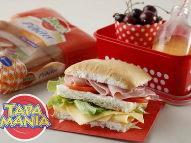 #Sandwiches de #pebetes #Tapamanía para llevar al cole.