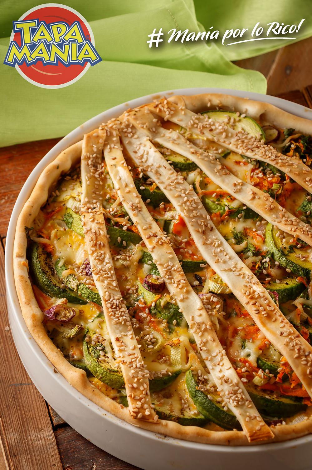 tarta vegetales